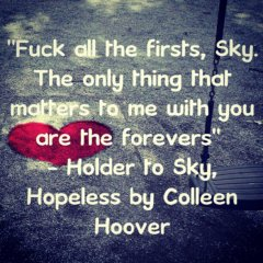 Holder (Hopeless by Colleen Hoover)