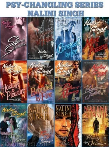 psy-changeling series by nalini singh