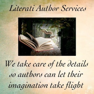 Literati Author Services button