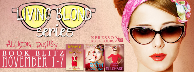 Living Blond Trilogy Blitz Banner