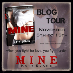 Mine blog tour button