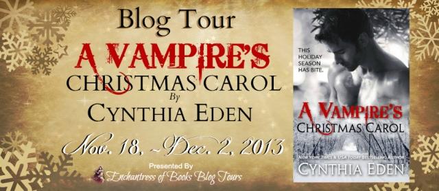 A Vampire's Christmas Carol - Blog Tour - Banner
