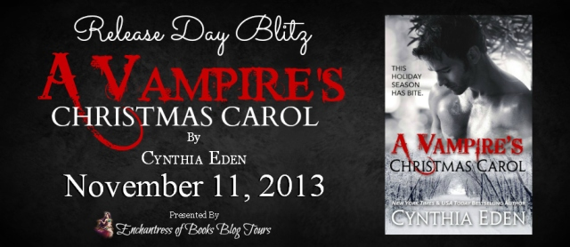 A Vampire's Christmas Carol - Release Day Blitz - Banner