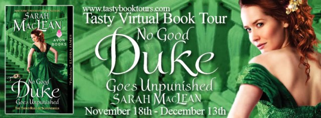 No Good Duke Goes Unpunished Sarah MacLean banner