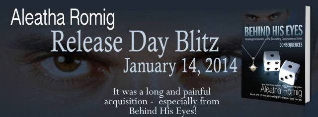 Behind His Eyes release day blitz