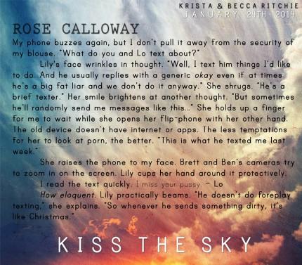 Kiss the Sky teaser