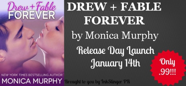 Release Day Launch Drew + Fable Forever