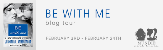Be with Me blog tour banner
