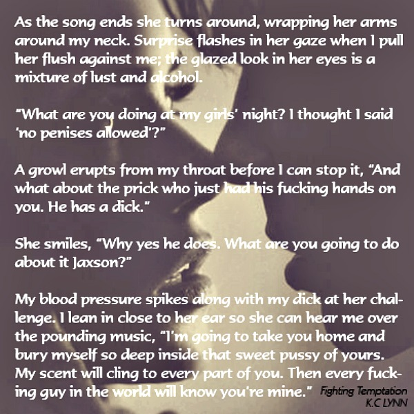 Blog Tour Teasers Fighting Temptation By Kc Lynn Booklovers