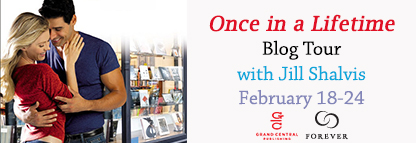 Once in a Lifetime Blog Tour banner