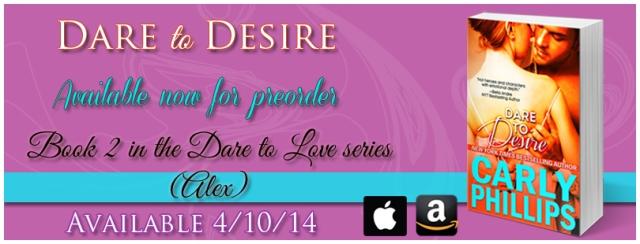 Dare to Desire preorder banner