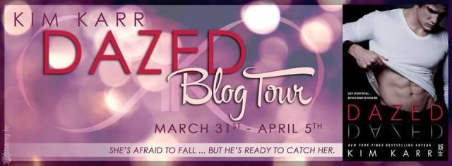 Dazed blog tour banner
