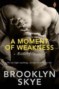 A Moment of Weakness by Brooklyn Skye
