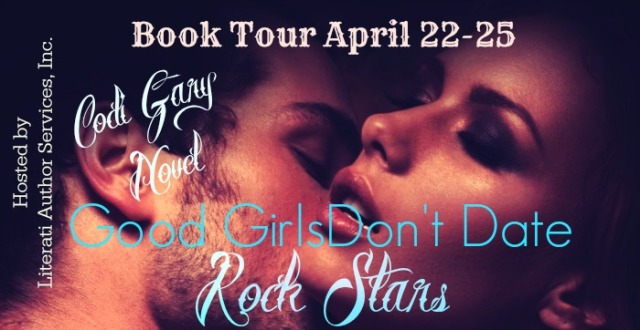 Good Girls Don't Date Rock Stars tour banner