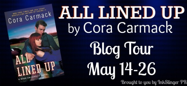 All Lined Up Blog Tour Banner