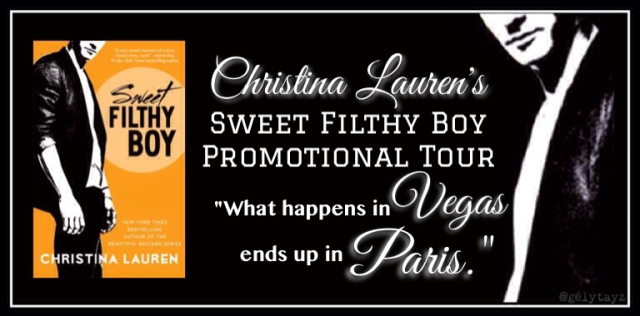 Sweet Filthy Boy tour banner