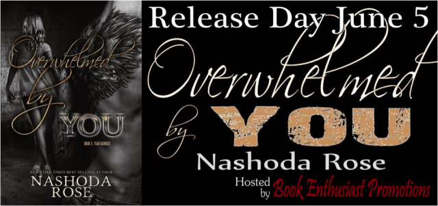 Overwhelmed by You release day banner