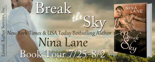 Break The Sky tour banner