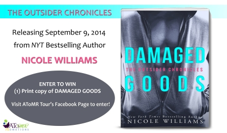Damaged Goods Cover Reveal prize