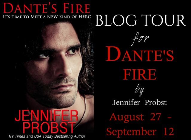 Dante's Fire Tour banner