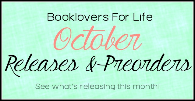 October 2016 Releases Booklovers For Life