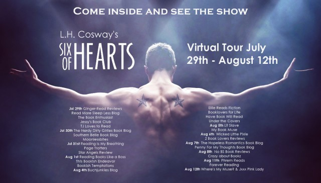 Six of Hearts full tour banner