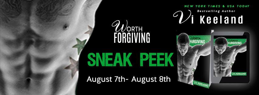 Sneak Peek Giveaway Worth Forgiving By Vi Keeland Booklovers