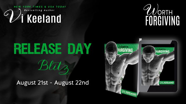 Worth Forgiving release day blitz