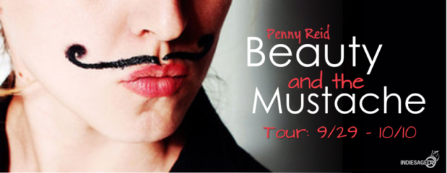Beauty and the Mustache tour banner