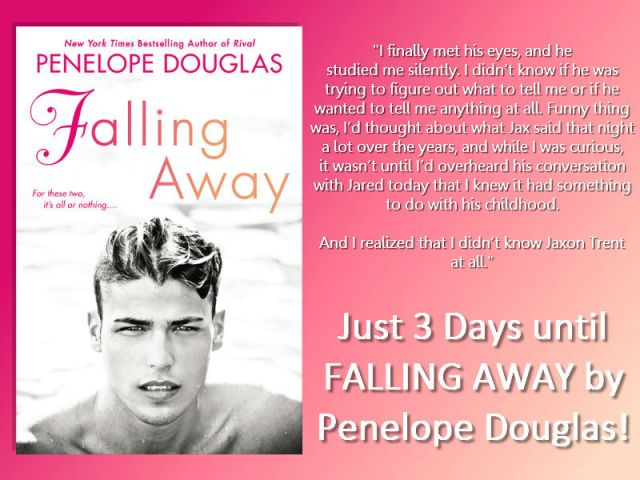 Falling Away - 3 day countdown