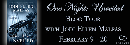 One Night Unveiled Tour banner
