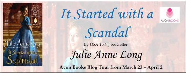 It Started with a Scandal Tour Banner