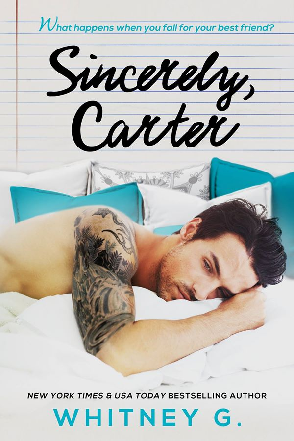 Sincerely, Carter by Whitney Gracia Williams