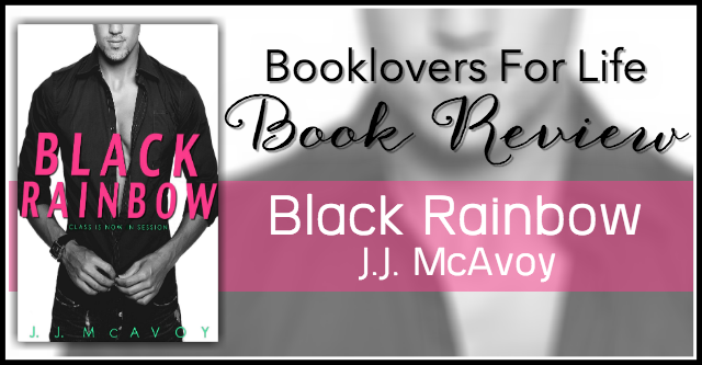 black rainbow review banner