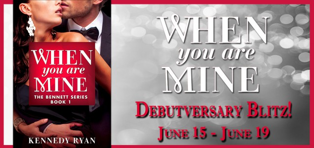 When You Are Mine Debutversary banner