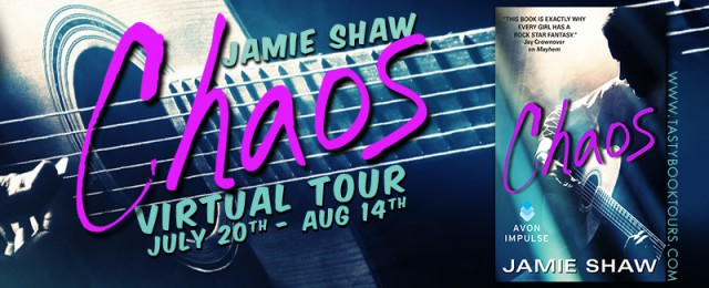 Chaos tour banner