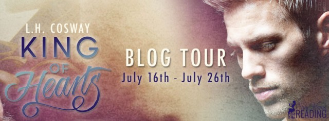 King of Hearts blog tour banner