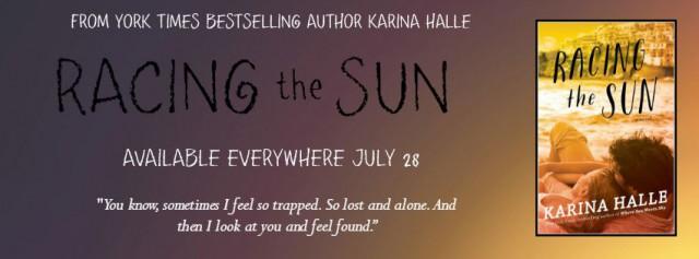 Racing the Sun banner