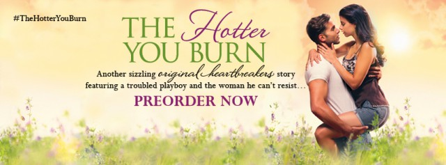 The Hotter You Burn banner