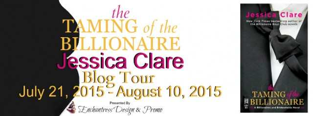 The Taming of the Billionaire Tour Banner