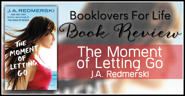 the moment of letting go review banner