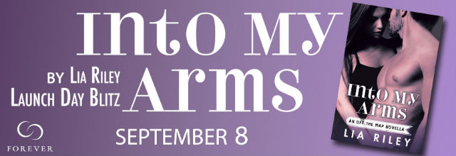 Into My Arms release