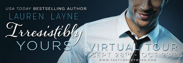 Irresistibly Yours tour banner