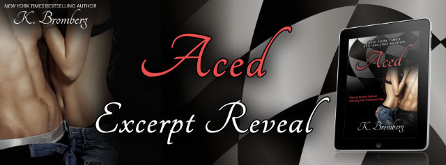Aced Excerpt Reveal