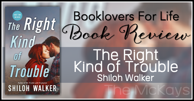 the right kind of trouble review banner