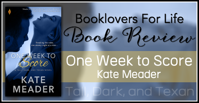 Release Day Review One Week To Score By Kate Meader Booklovers